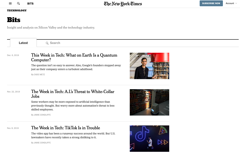 NYT-Bits
