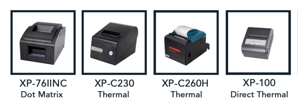 Thermal Receipt Printer vs. Dot Matrix