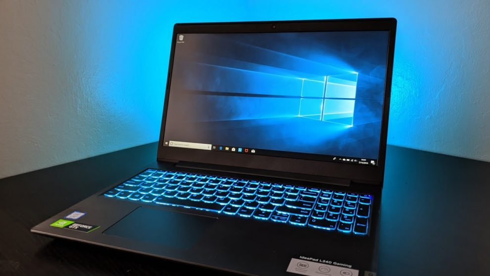 Lenovo Ideapad L340 Gaming Laptop.