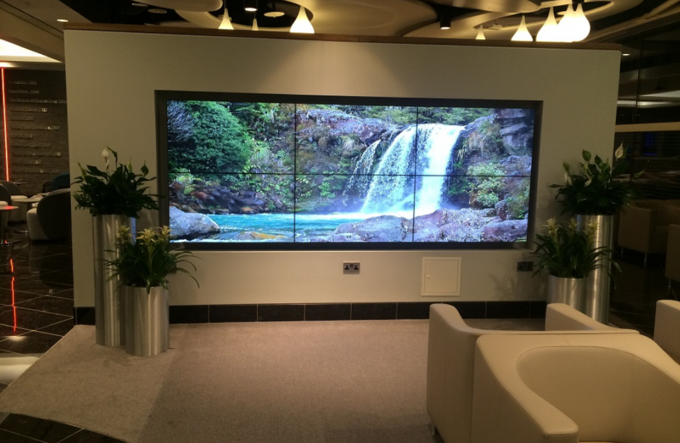 Transform your lounge with a home video wall