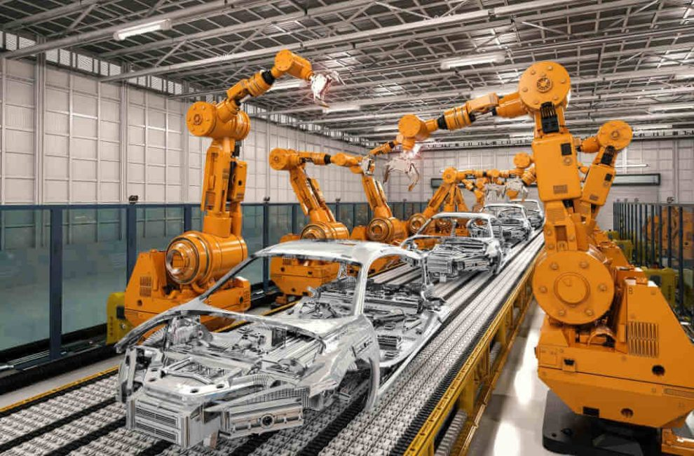 Types and Uses of Industrial Robotic Arms in Manufacturing