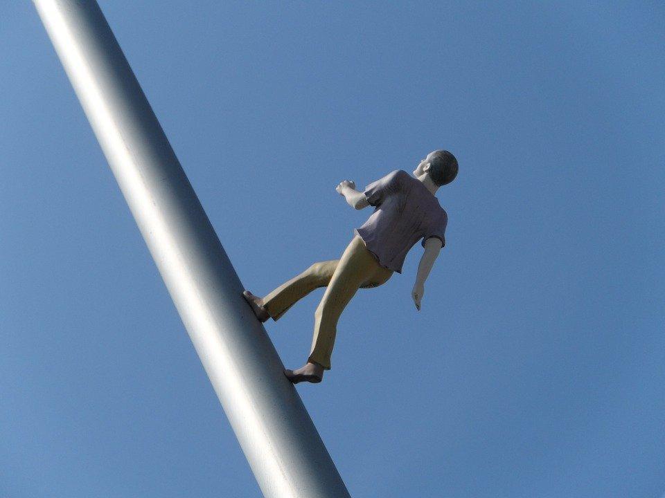 Man Walking To The Sky, Heaven Help Us, Artwork